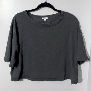 Splendid Boxy Crop T Shirt